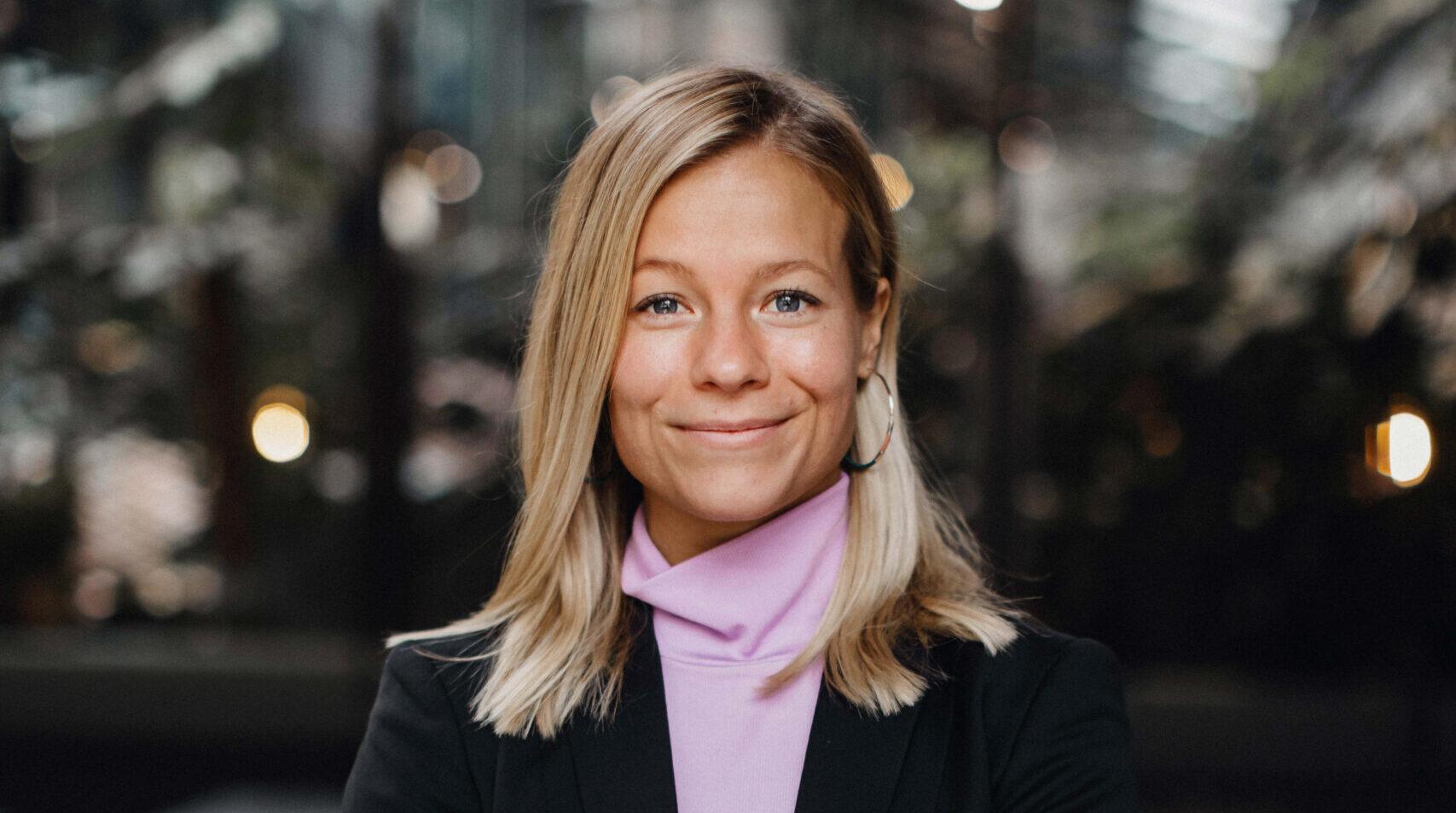 Lisa Stenvinkel är projektledare för UNDP Sverige och en av OmVärldens talanger