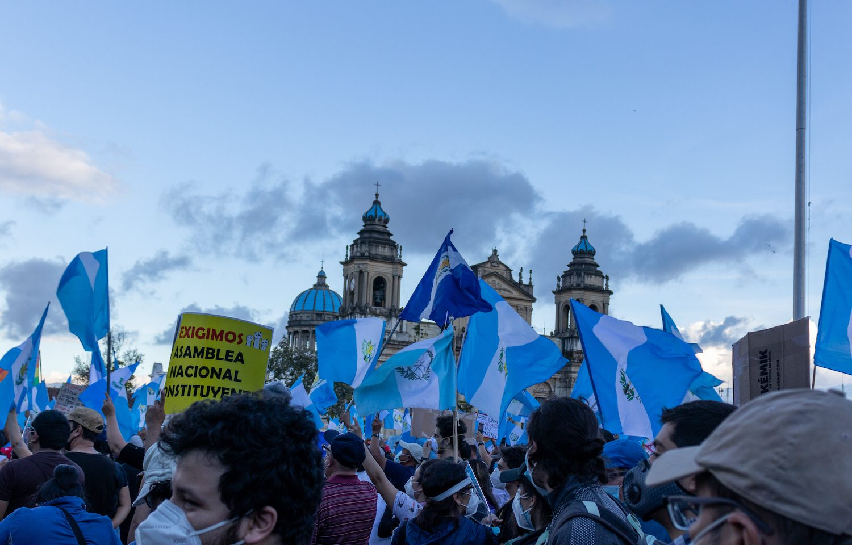 Ökade folkliga protester mot korruption, som här i Guatemala, gör att Sverige lägger mer bistånd på Latinamerika.