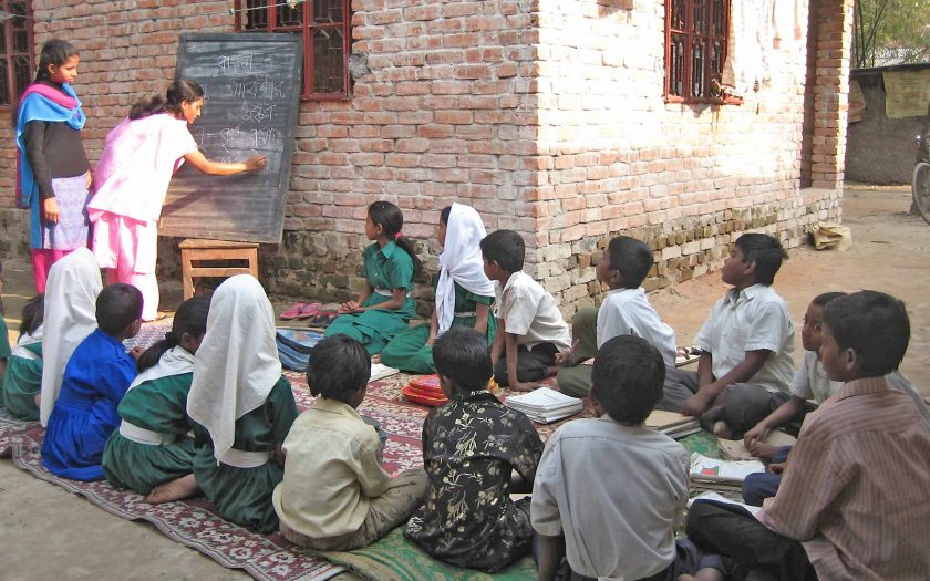Flera barn i SOS Barnbyars projekt ska ha utsatts för övergrepp. Här en av organisationens skolor i Bangladesh, från 2011.