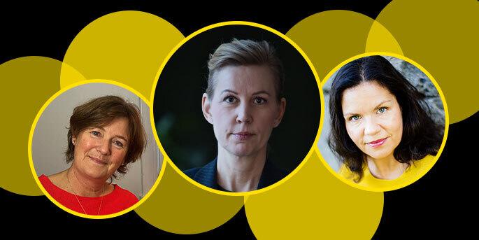 Generalsekreterarna Anna Ernestam, Helena Thybell och Louise Lindfors på SOS Barnbyar, Rädda Barnen och Afrikagrupperna är några av de biståndschefer vars löner förra året låg kvar på samma nivå som året innan.