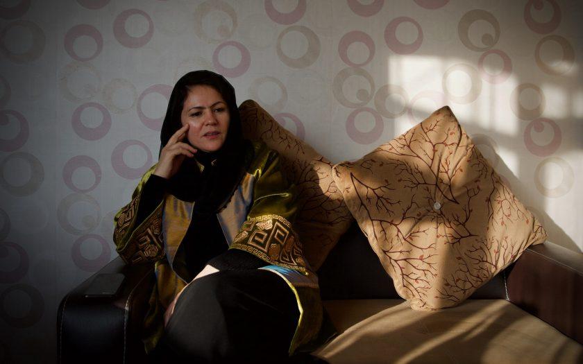 Politikern, fredsförhandlaren och kvinnorättsförsvararen Fawzia Koofi säger att Afghanistans demokratisträvanden är i fara.