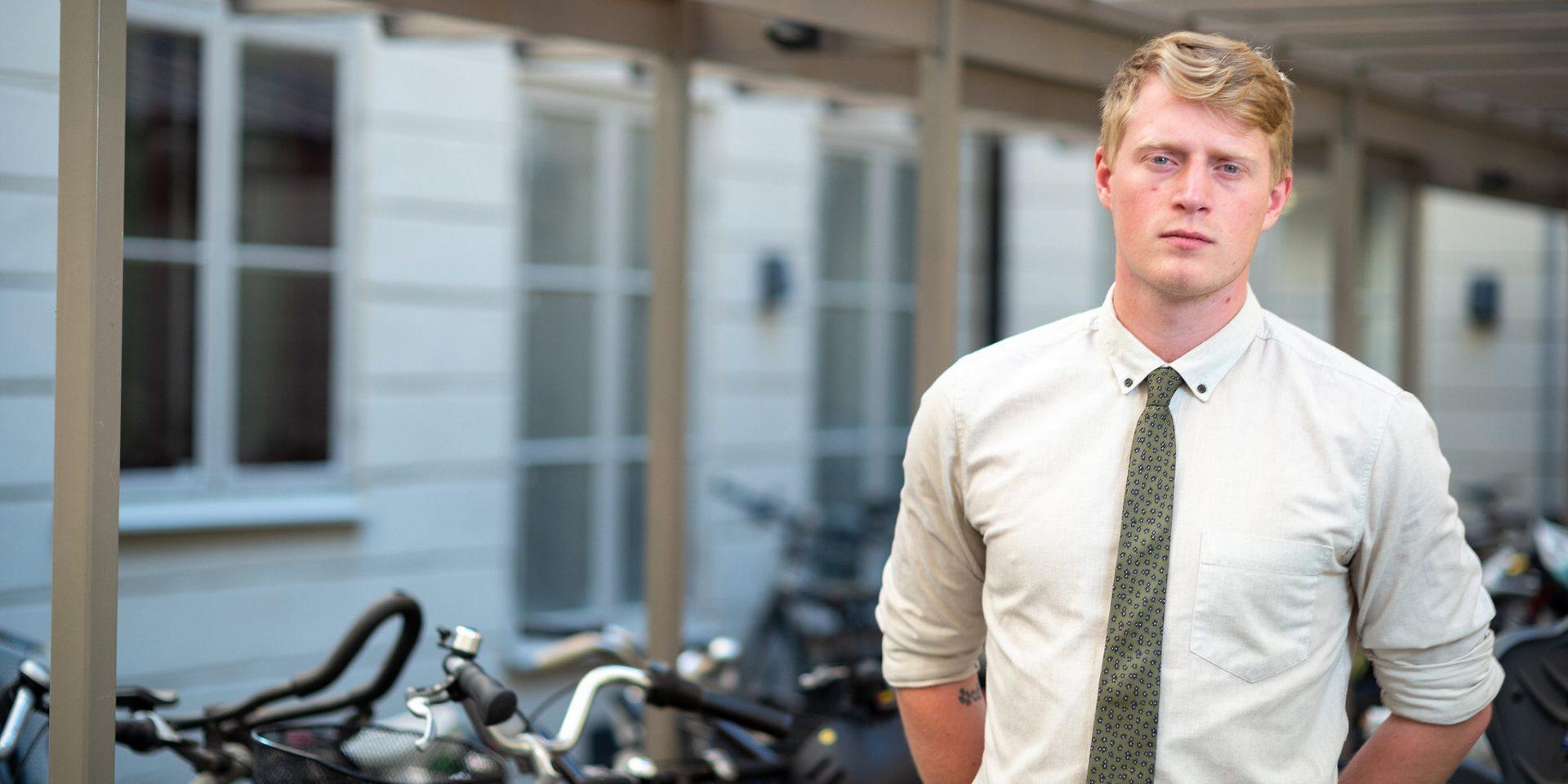 När Centerpartiet lanserar en ny internationell utvecklingspolitik är det riksdagsledamot Magnus Ek som står bakom.