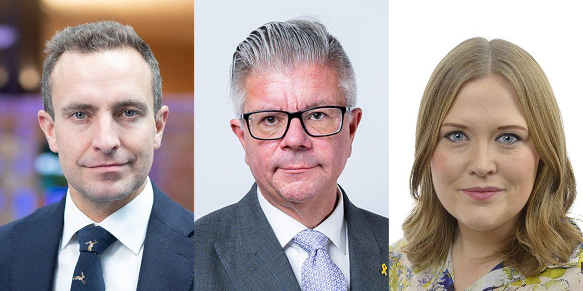 Mdoeraternas Europaparlamentariker Tomas Tobé, och riksdagsledamöterna Hans Wallmark (M) och Magdalena Schröder (M) vill se en reformerad biståndspolitik.