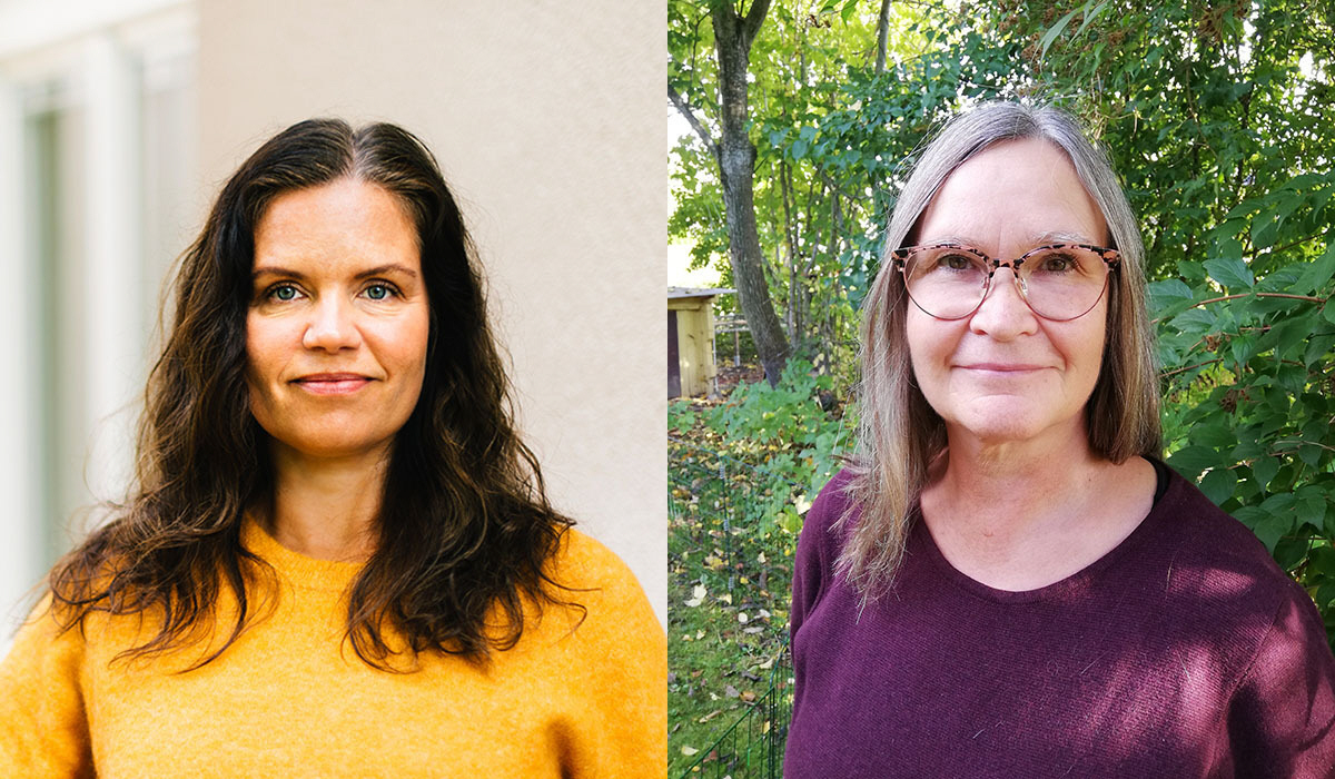 Louise Lindfors, generalsekreterare, och Annika Lillemets, policyrådgivare, på Afrikagrupperna vill att Sverige jobbar aktivt mot barnarbete genom ett FN-initiativ för bindande krav på företag.