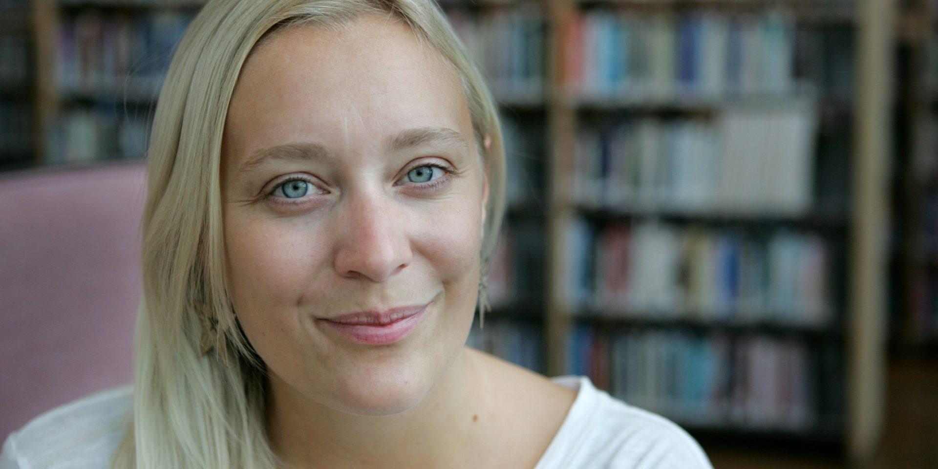 Gröna studenters språkrör Katarina Folkeson uppmanar Joe Biden att titta på hur Miljöpartiet fått igenom sin klimatpolitik i Sverige.
