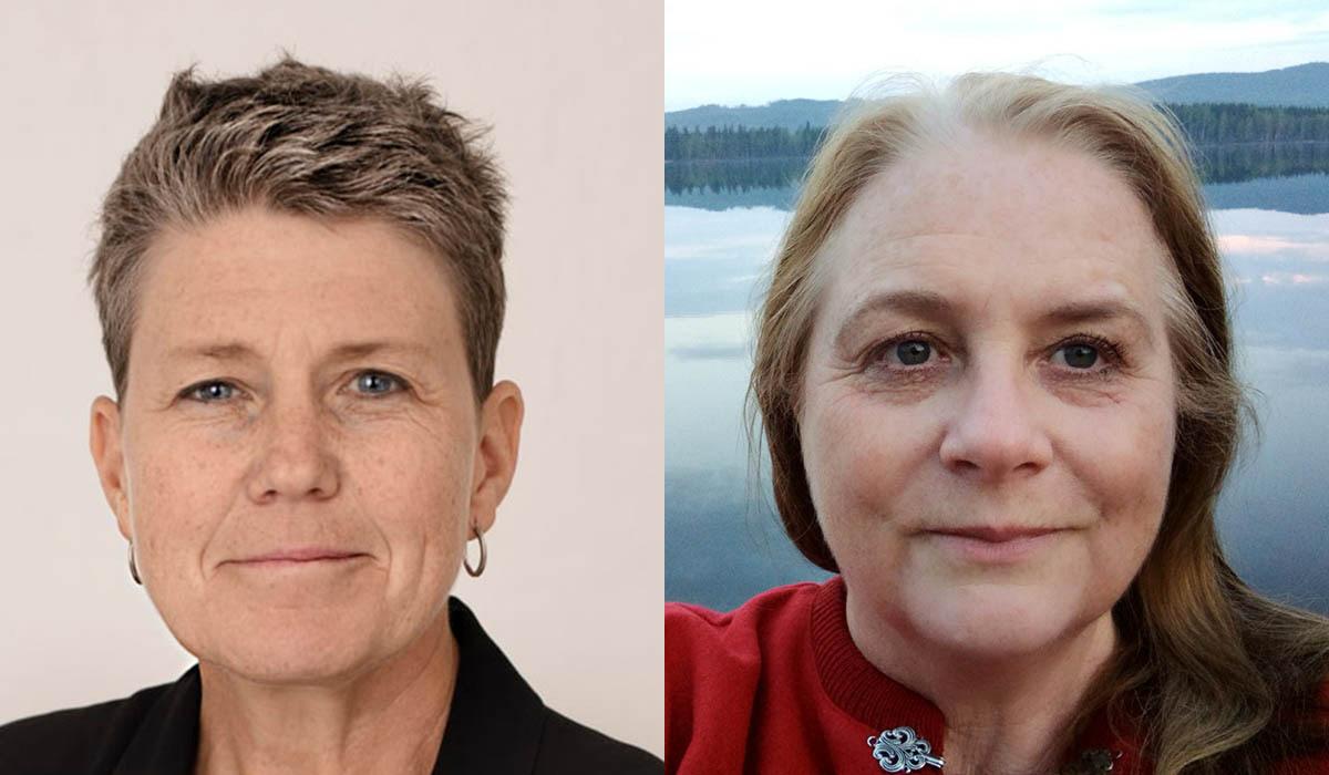 Anna Tibblin, generalsekreterare för We Effect, och Eva Åberg, verksamhetschef för Vi-skogen, vill se mer bistånd till jordbruksutveckling.