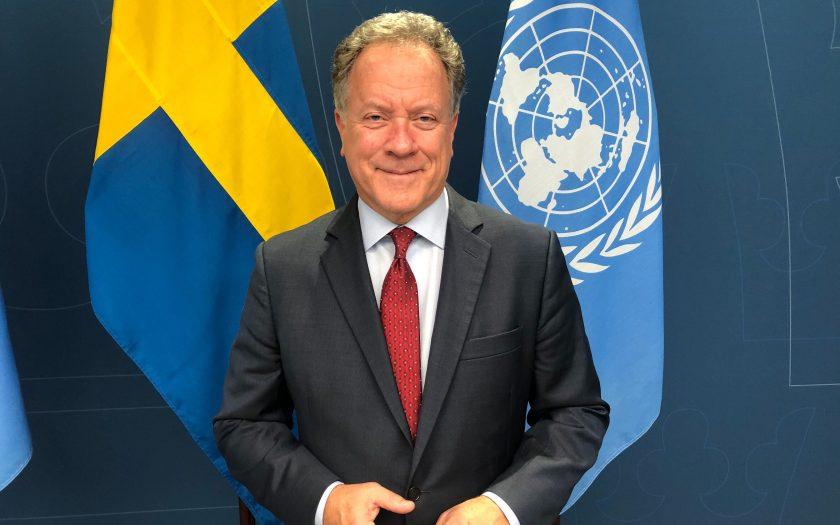 David Beasley är chef för FN:s livsmedelsprogram WFP, som får Nobels fredspris 2020, men som ser stora behov för att bekämpa hunger världen över.
