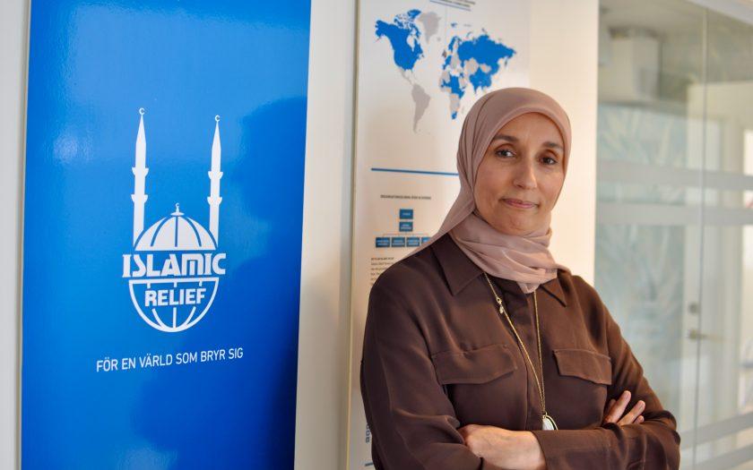 Som ordförande för Islamic Relief Worldwide har Lamia Elamri varit både arg och besviken under en turbulent sommar med skarp kritik mot organisationen.