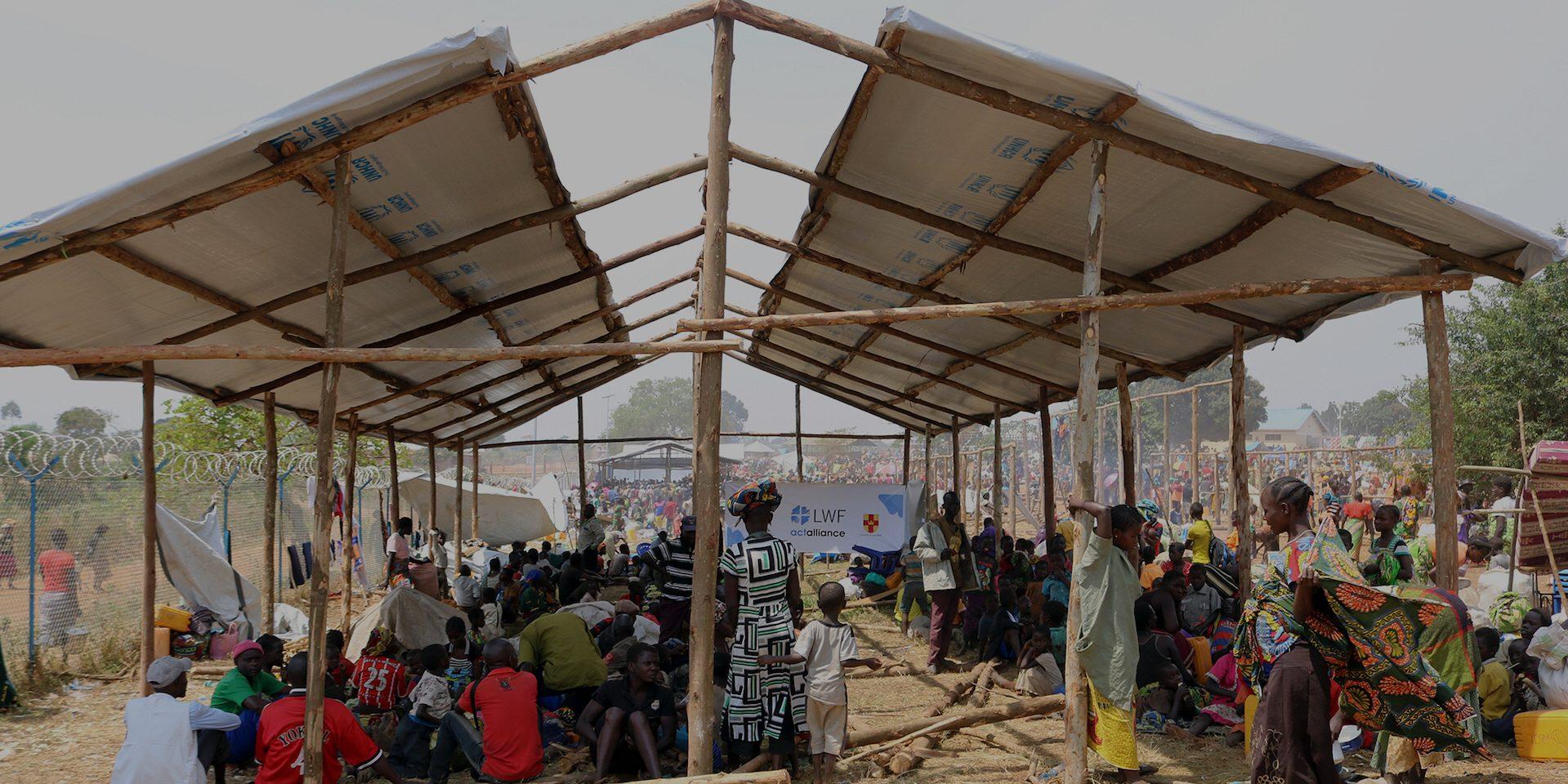 Flyktingar i Kagoma, Uganda, har fått humanitärt stöd av ACT Svenska kyrkan, via Lutherska världsförbundet.