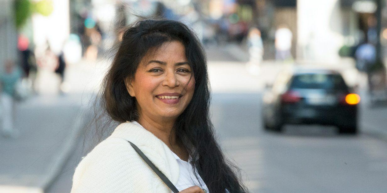 Jahanara Nuri fann som hotad journalist en fristad i Sverige
