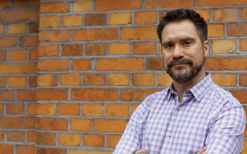 OmVärldens chefredaktör Erik Haljkaer.