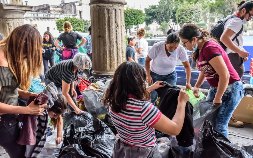 Svenskarnas vilja att bistå människor på andra platser i världen, som här i Guatemala, med bistånd har ökat, enligt organisatonen Diakonia och tidningen Sändaren.