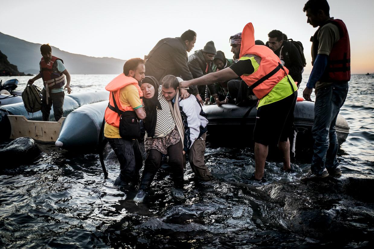 De grekiska öarna är än idag landningsplats för tiotusentals flyktingar och migranter på väg till Europa.