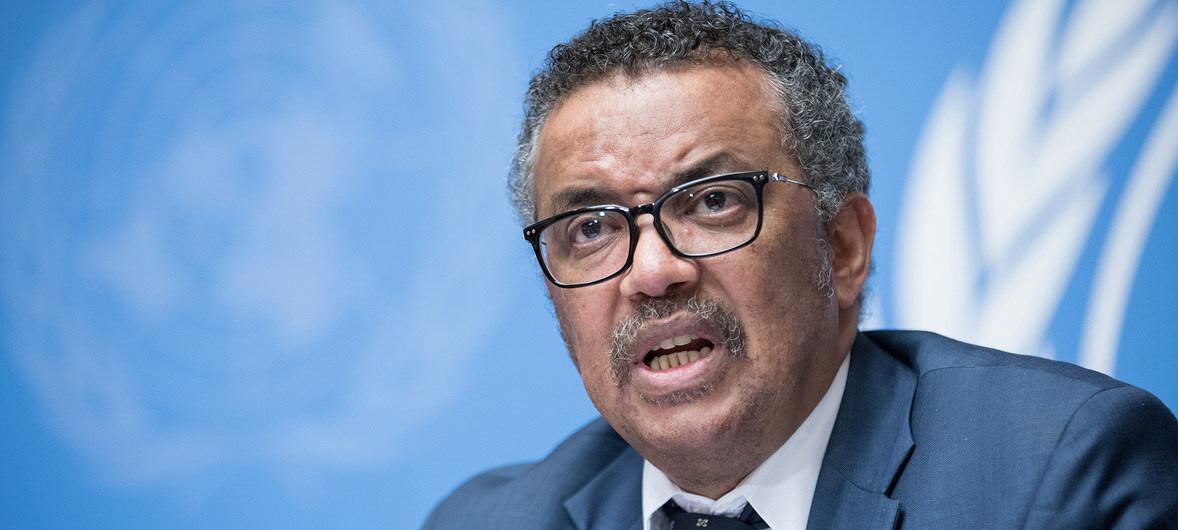 Tedros Adhanom Ghebreyesus, generaldirektör för World Health Organisation (WHO).