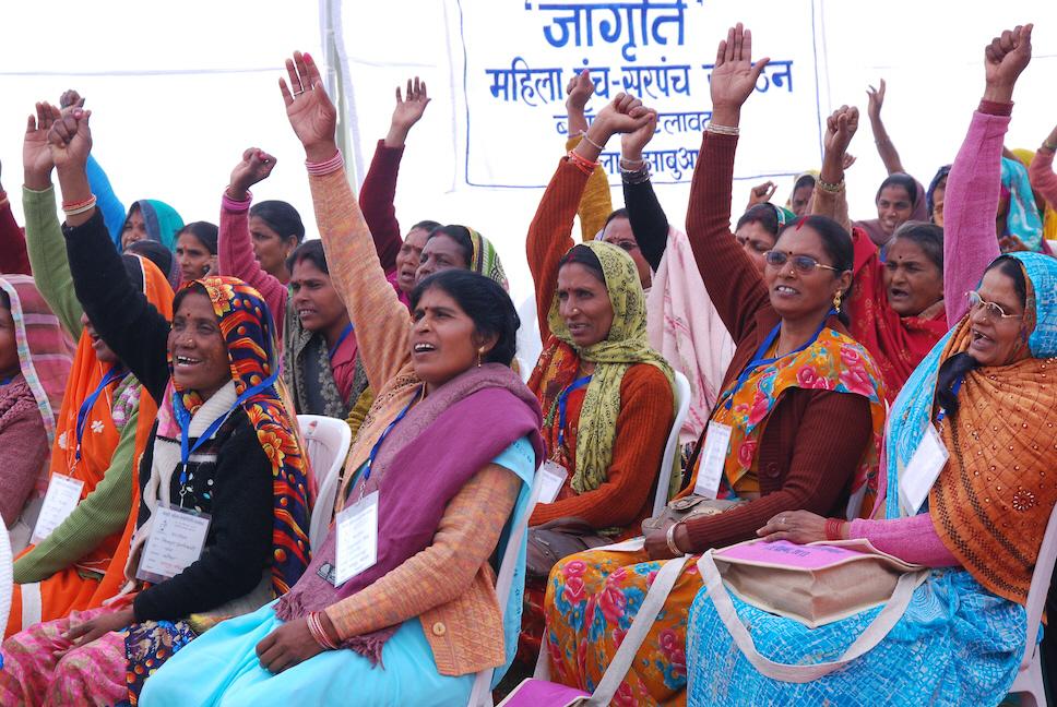Allt fler kvinnor tar plats i den indiska lokalpolitiken, men världens största demokrati har fortfarande långt kvar till jämställdhet.
