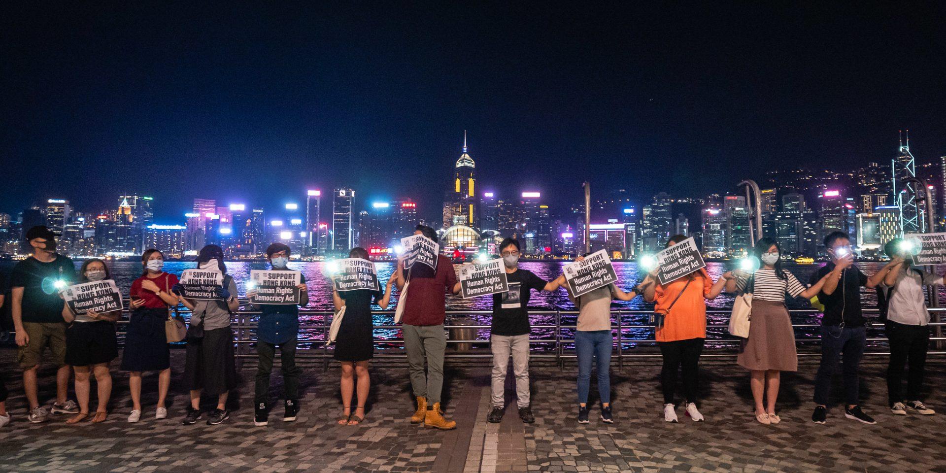 Demonstrationerna för demokrati i Hongkong har pågått sedan sommaren 2019.