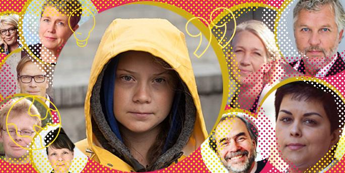 2019 var året då klimatfrågan inte gick att undvika, utan dominerade de flesta debatter, från våra middagsbord till FN:s generalförsamling. Klimatet blev även en stor frågai biståndsdebatten – Greta Thunberg är biståndsdebattens mäktigaste 2019.