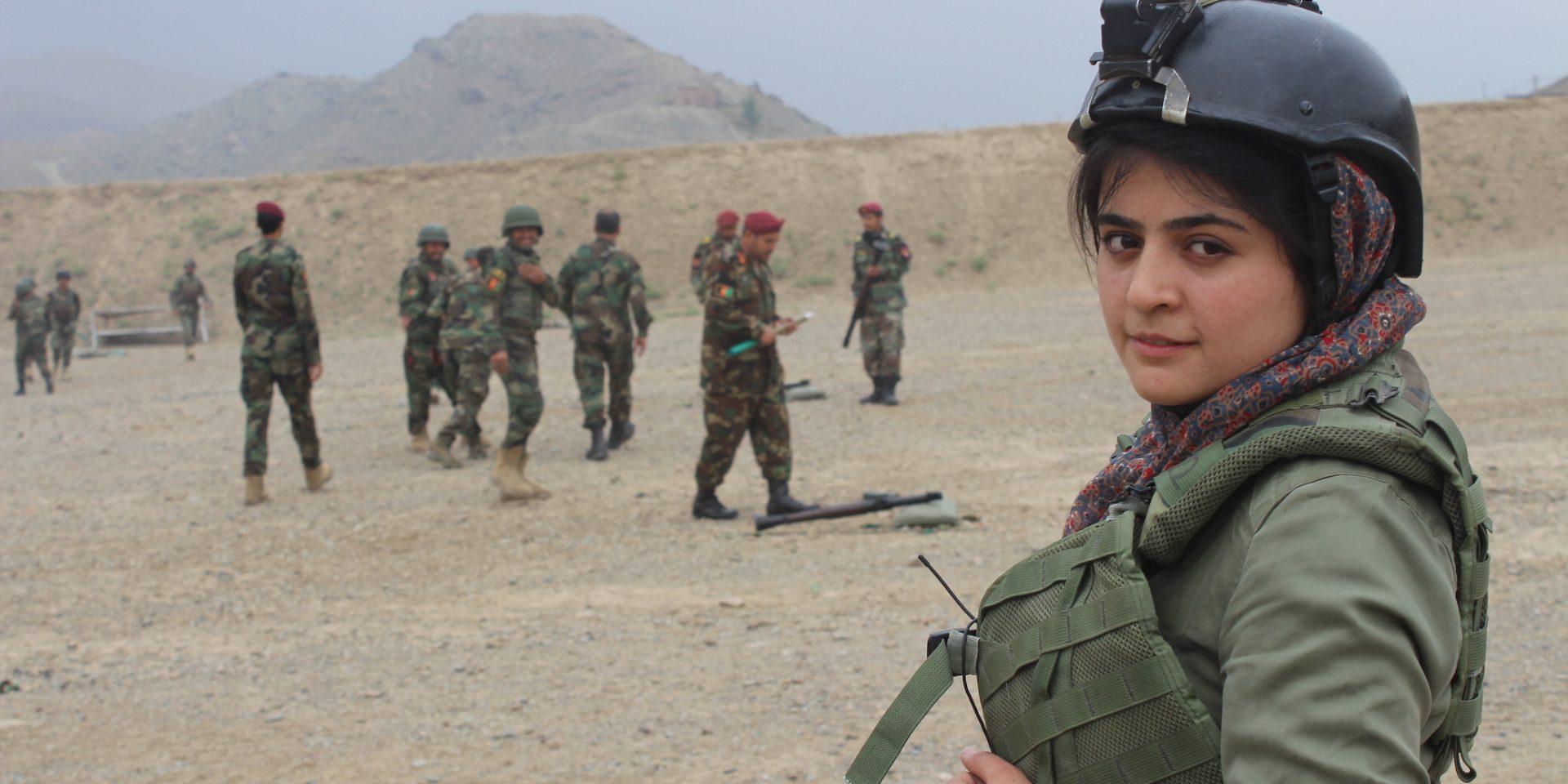 Najwa Alimi är årets Per Anger-pristagare.