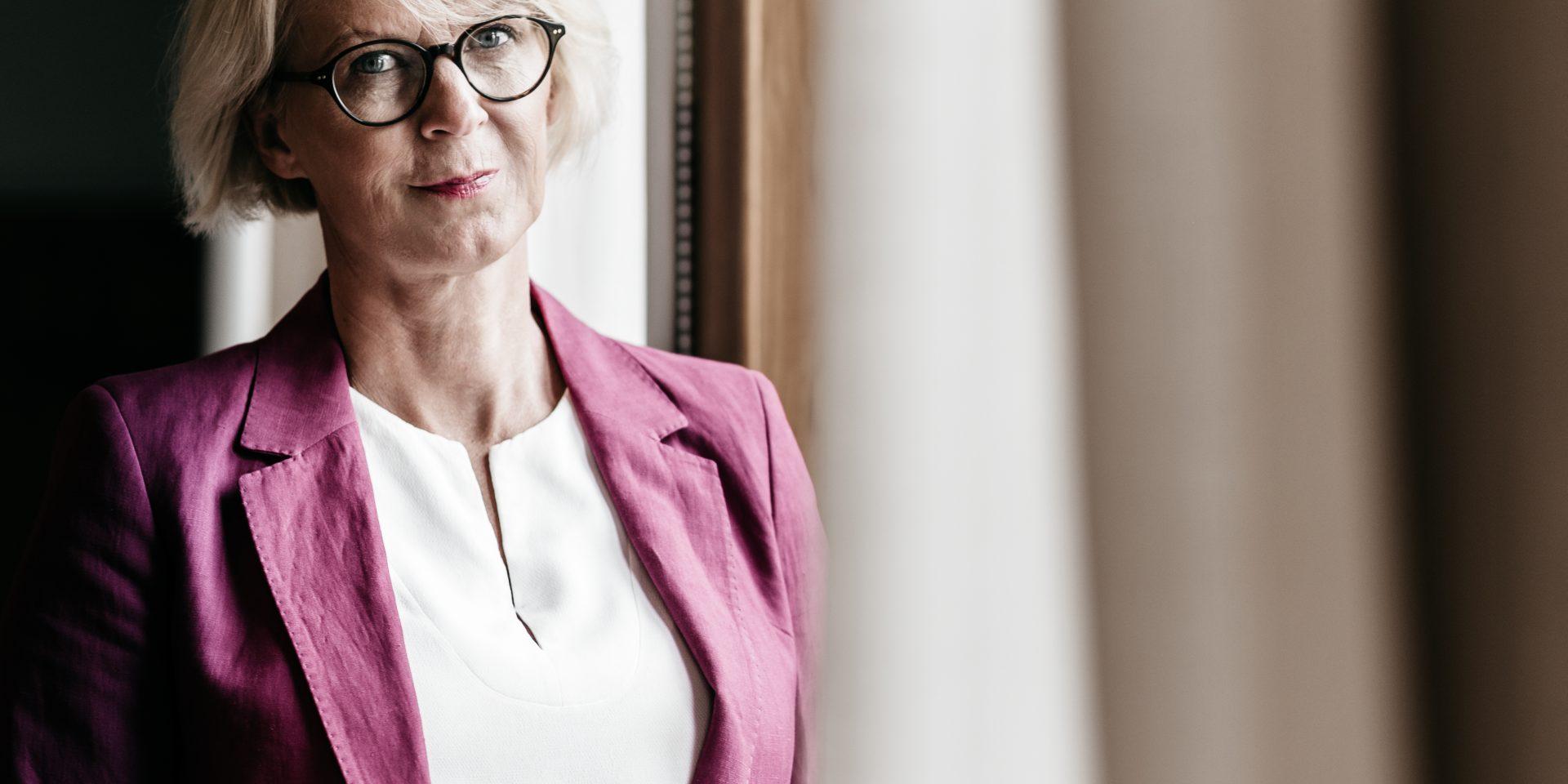 Elisabeth Svantesson, ekonomisk-politisk talesperson hos Moderaterna.