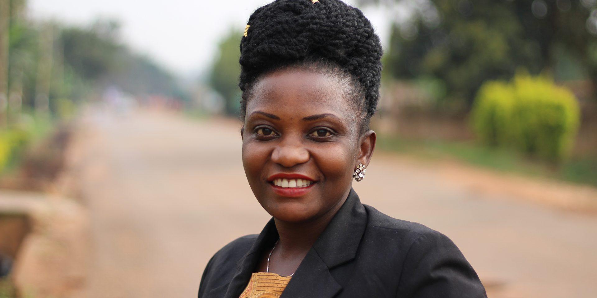 Prossy Babirye är ordförande för Ugandas samarbetsorganisation för människorättsorganisationer, NCHRD-U.