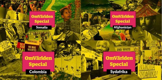 Fyra spännande poddar som ger dig djupare insikter om arbetet för fred i Colombia, kampen mot apartheid i Sydafrika, diasporans roll för Somalia och hur det är att arbeta i konfliktmiljö i Afghanistan.