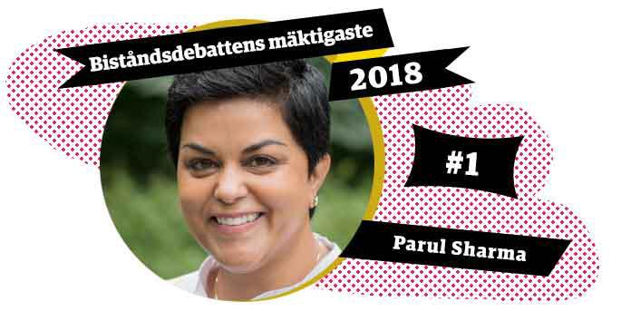 Parul Sharma är biståndsdebattens mäktigaste 2018.