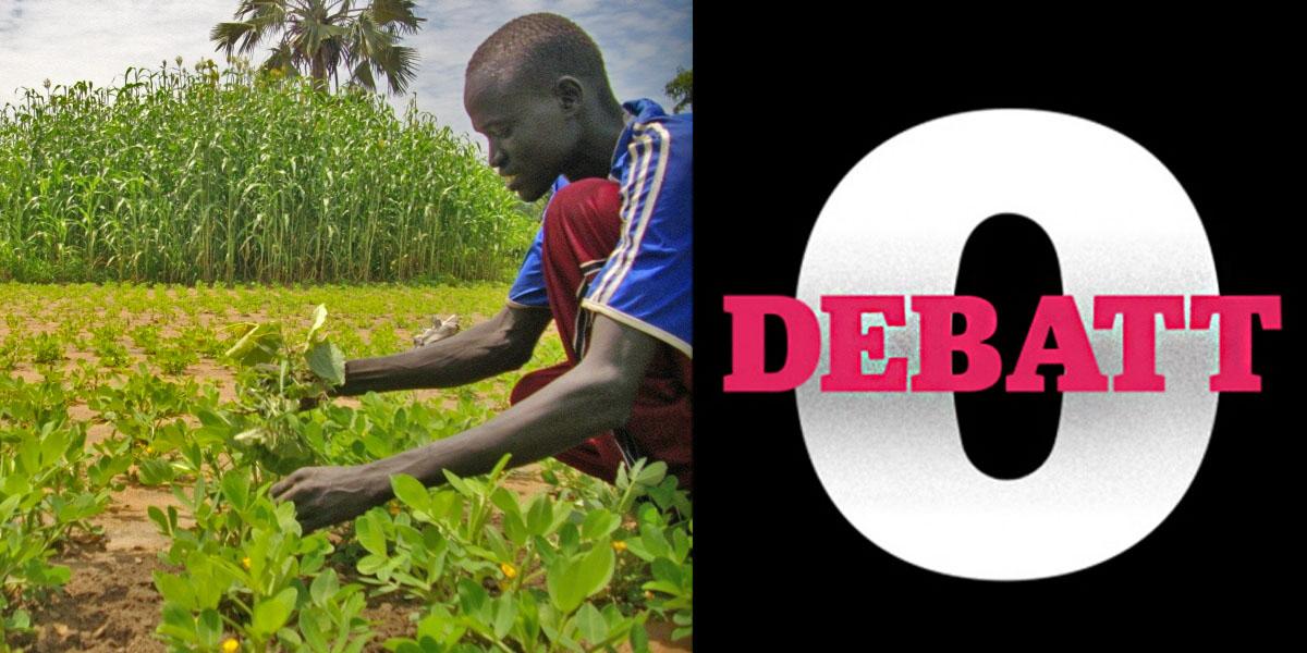 Det är anmärkningsvärt att Sverige var ett av sju länder som röstade mot FN-deklarationen om rättigheter för småbrukare menar debattörerna. På bilden: Justin Madut visar sina odlingar i Sydsudan.