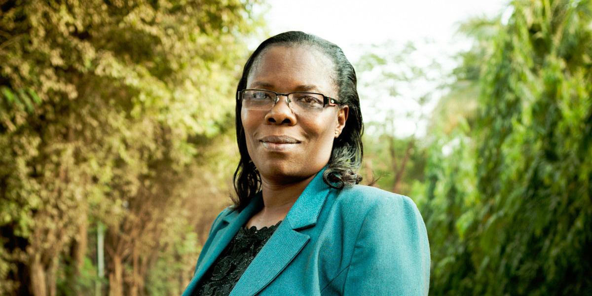 Margaret Maina arbetar med organisationen Women in Water som vill stärka kvinnors roll i frågor som rör vattenhushållning i afrikanska länder.