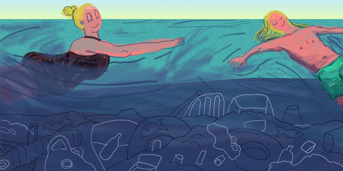 Blir det semester vid Medelhavet i sommar? Där är koncentrationen av plastskräp högst i världen, visar ny rapport från WWF.