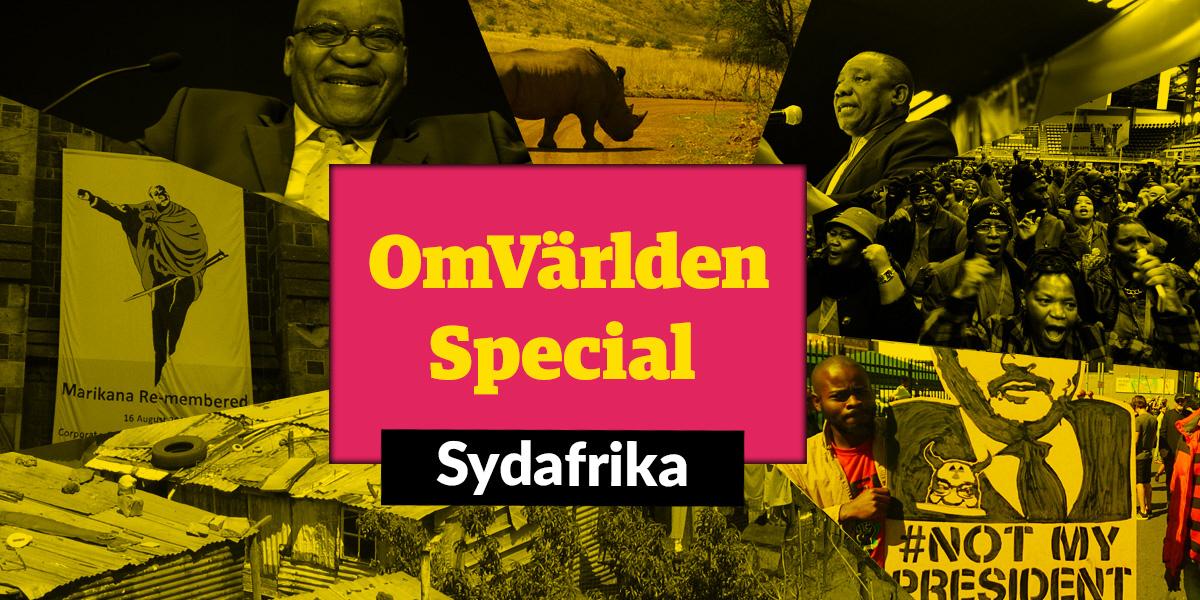 OmVärlden Special om Sydafrika - här del två om biståndets betydelse och om vad som inte fungerade.