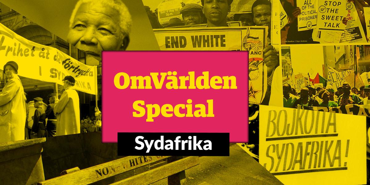 OmVärlden Special – en ny poddsatsning från OmVärlden! Första avsnittet handlar om Sydafrika.