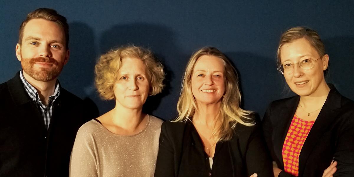 Hans Linde, Ann Svensén, Ylva Bergman och Kristina Henschen.