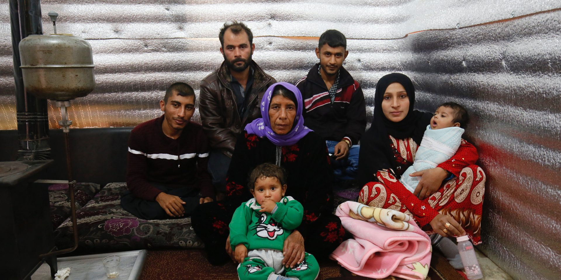 En syrisk familj i flyktinglägret Bekaa Valley i Libanon. Libanon vill skicka tillbaka de syriska flyktingar som kommit till landet.