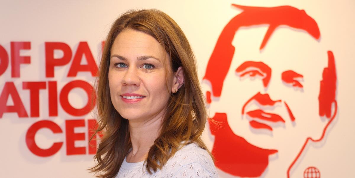 Anna Sundström,Generalsekreterare på Olof Palmes Internationella Center.