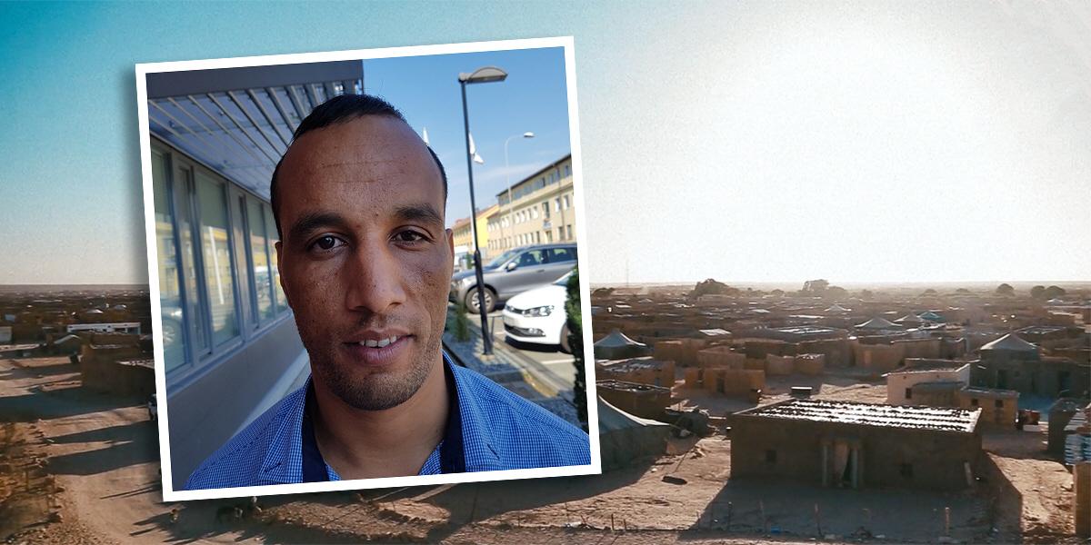 Mohamed Salem växte upp i de västsahariska flyktinglägren i Algeriet.