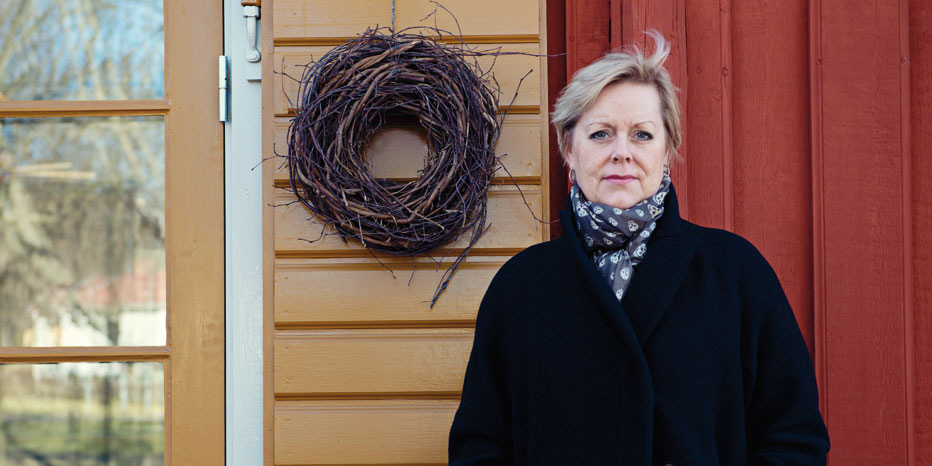 Lena Ag i världen. Foto: Marlene Magnussen