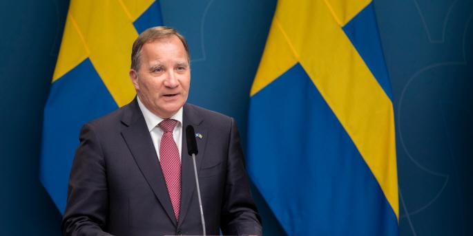 Statsminister Stefan Löfven säger att Sverige ska vara världsledande i arbetet med Agenda 2030, men är samtidigt självkritisk till arbetet hittills