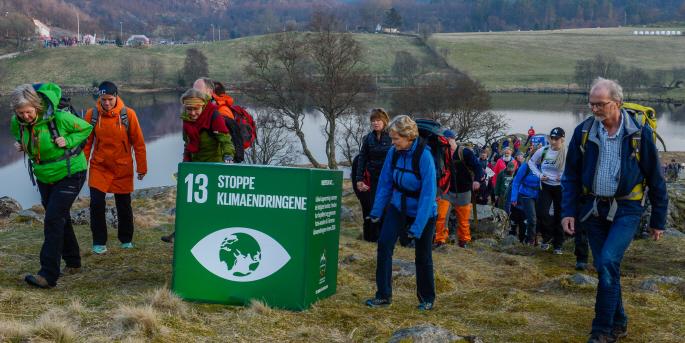 Medan biståndsviljan bland svenskarna minskar ökar den i Norge. För första gången sedan 2006 säger sig nio av tio norrmän vara positiva till det norska biståndet. I åldersgruppen 16–24 ställer sig 94 procent positiva.