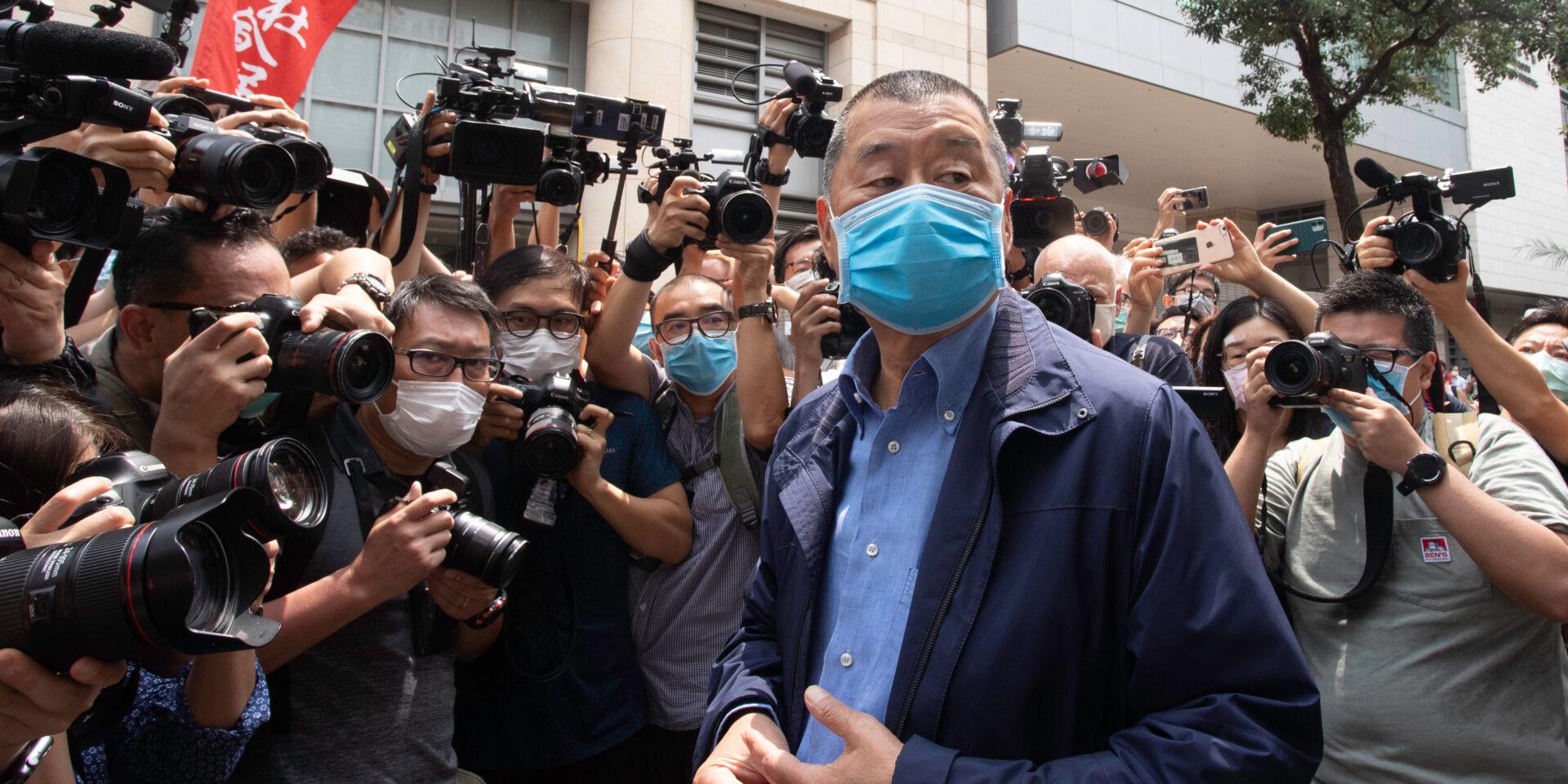 Jimmy Lai Chee Ying, grundare av den numera nedlagda tidningen Apple Daily