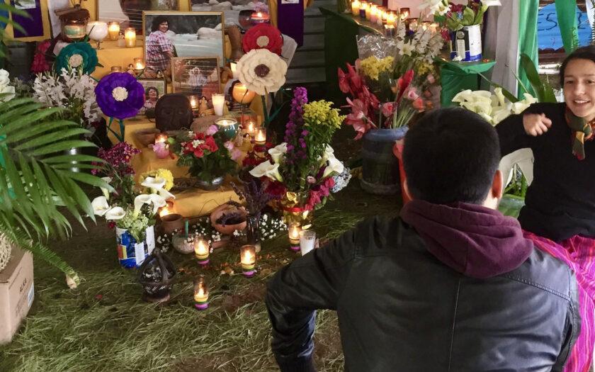 Berta Cáceres dotter, med samma namn, intervjuas på årsdagen av mordet.