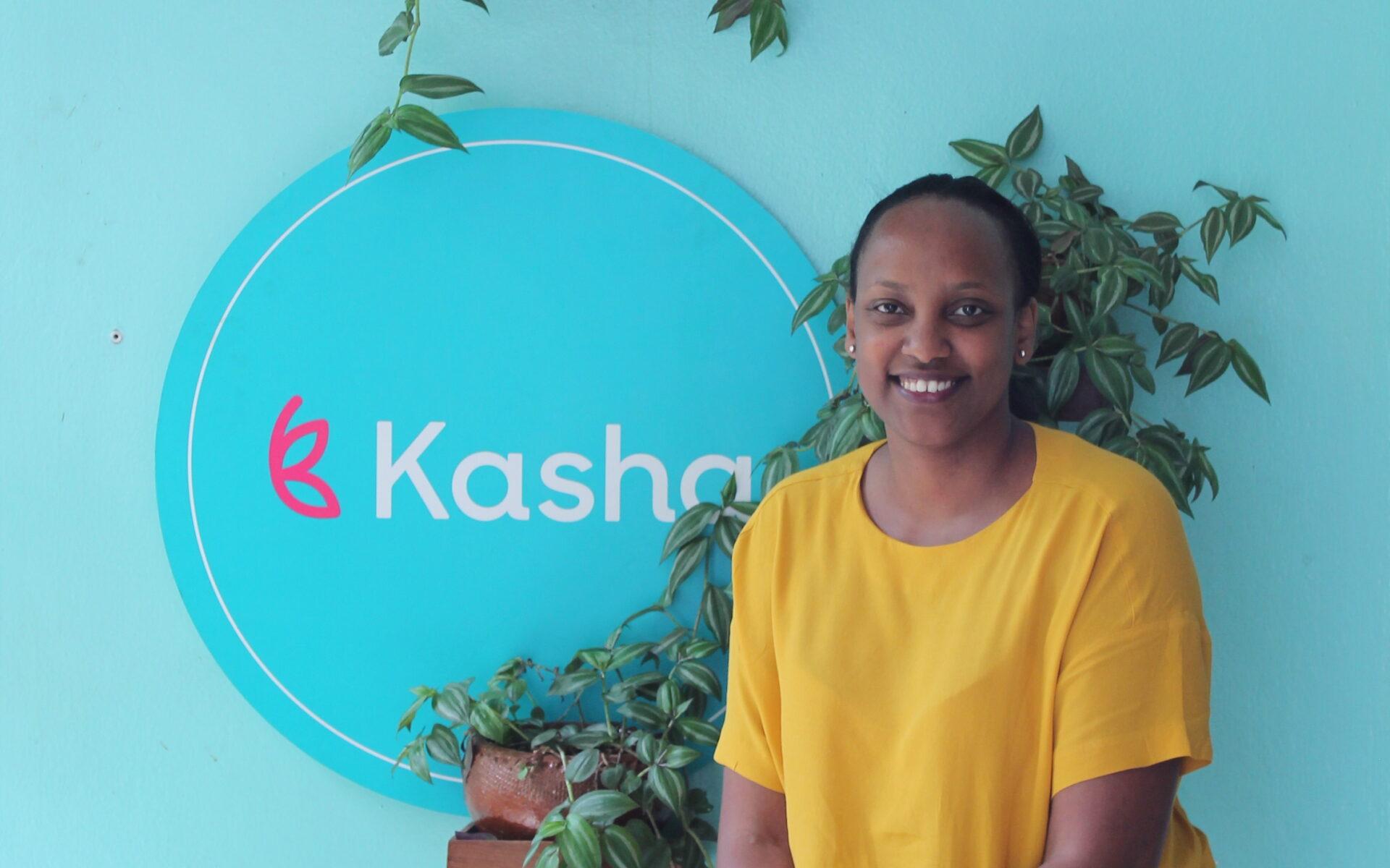 Aissetou Sanogo är landchef för Kasha i Rwanda