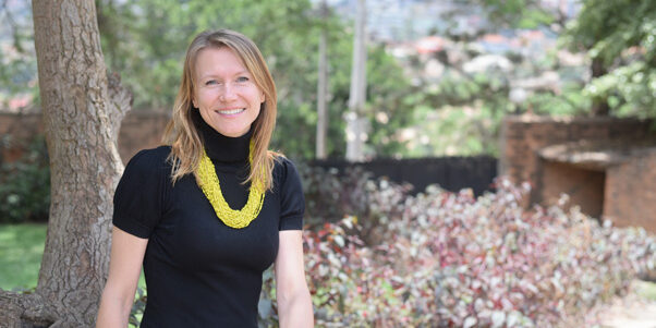 Johanna Bichsel grundare till e-handelsföretaget Kasha i Rwanda