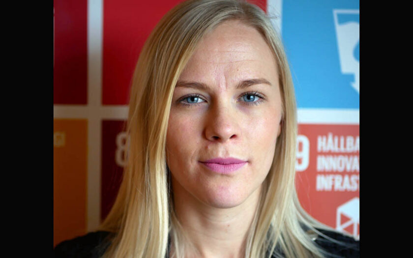 Hanna Nelson, policyrådgivare Oxfam Sverige