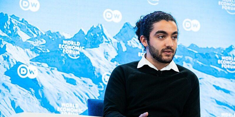 Mohamad Al Jounde jobbar för organisationen Gharsah och är en av OmVärldens talanger
