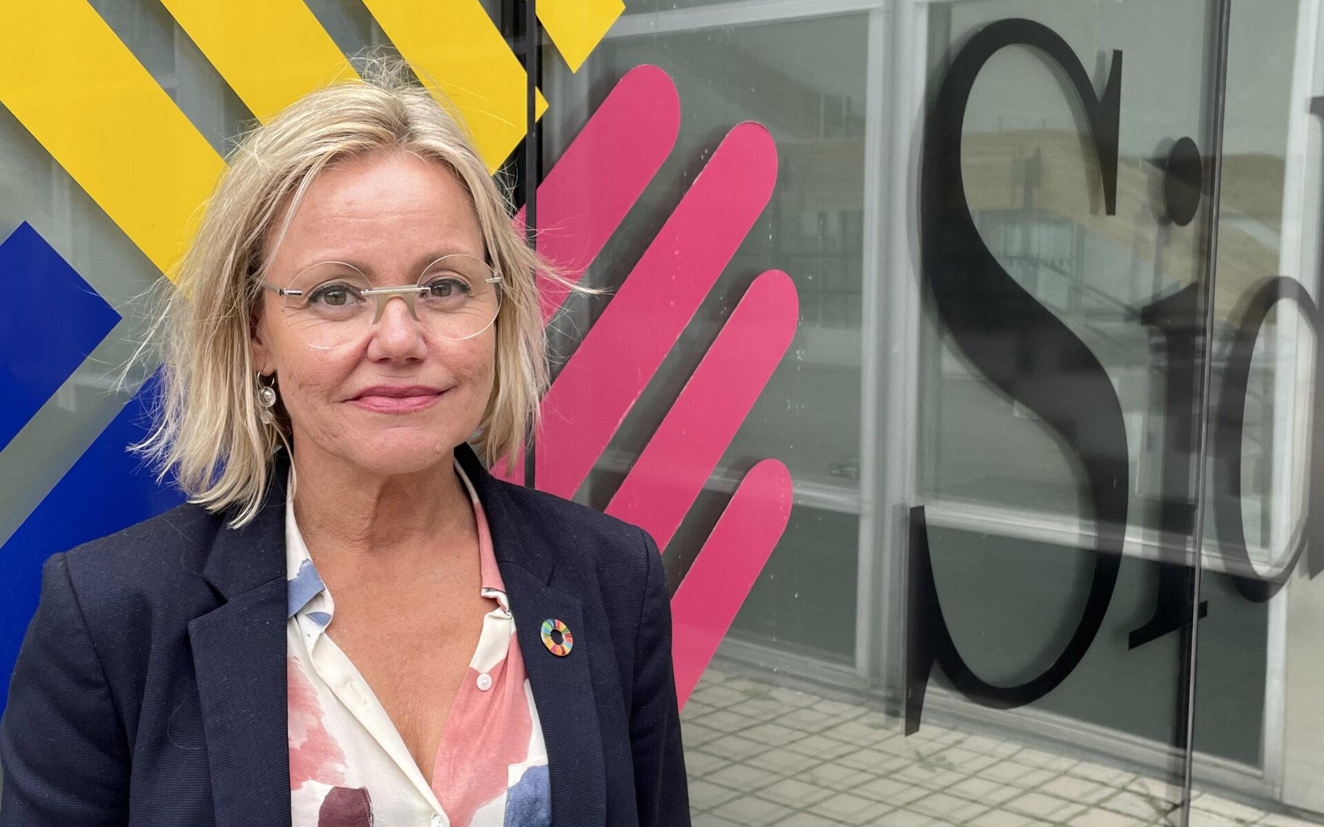 Åsa Andersson är biståndsråd på ambassaden i Etiopien