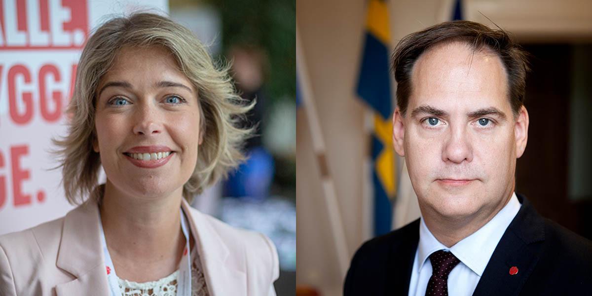 De socialdemokratiska riksdagsledamöterna Annika Strandhäll och Kenneth G Forslund vill se fortsatt bistånd till Afghanistan