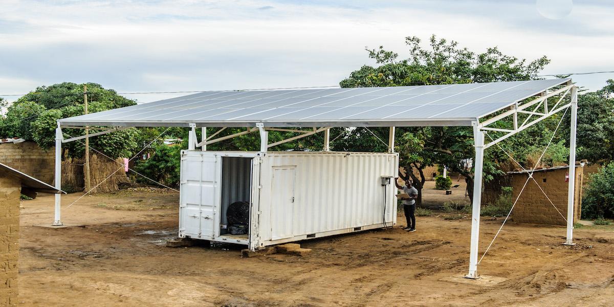 Sida stöttar småenergiföretag i Afrika Söder om Sahara