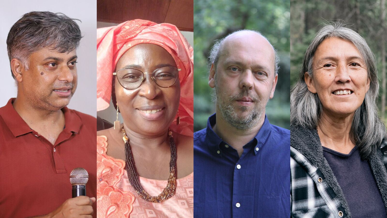Organisationen LIFE, Marthe Wandou från Kamerun, ryske miljöaktivisten Vladimir Slivjak och urfolksledaren Freda Huson från Kanada är pristagarna i år.
