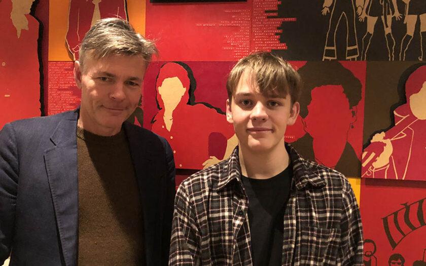 Mikael Karlsson (tv) och Andreas Magnusson (th).